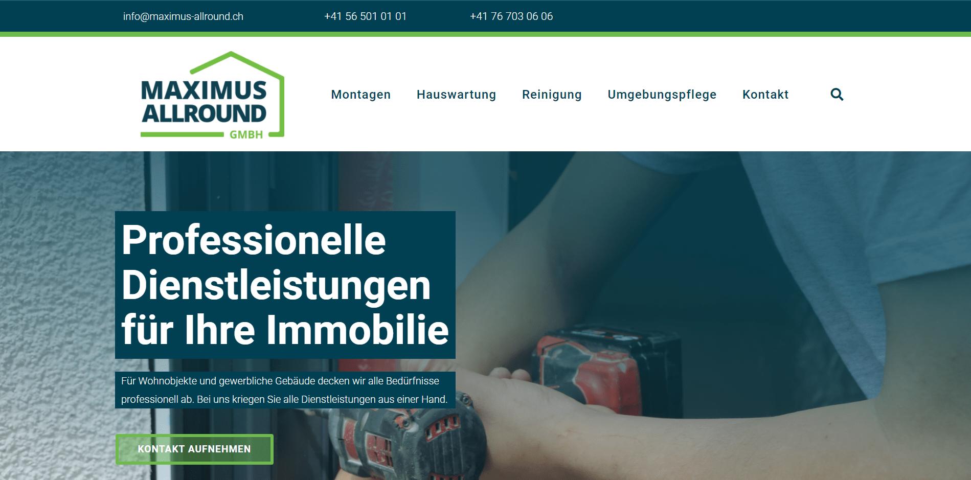 Maximus Allround GmbH Webdesign